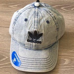 Originals ADIDAS Washed Blue Denim Hat